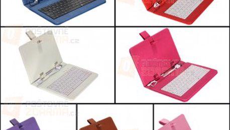 Pouzdro na tablet s USB klávesnicí pro 7″ tablety - více barev a poštovné ZDARMA! - 19505684