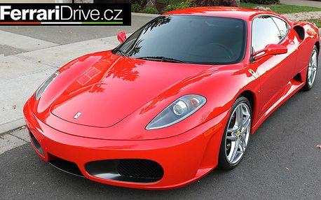 Jízda snů vsupersportu Ferrari F430 - 2 lokality