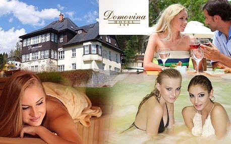 Wellness dovolená v Krkonoších s 50% slevou!