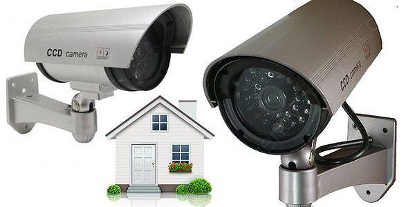 Atrapa bezpečnostní kamery za akční cenu!