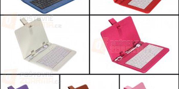 Pouzdro na tablet s USB klávesnicí pro 7″ tablety - více barev a poštovné ZDARMA! - 17905684