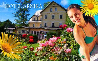 Odpočinek s wellness a bazénem na okraji Krkonoš