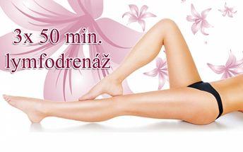 Permanentka na 3x 50 min. přístrojové LYMFODRENÁŽE! Shoďte přebytečná kila, zatočte s celulitidou a zregenerujte unavené nohy při příjemném relaxačním ošetření v BS studiu v samém centru Prahy u metra Náměstí Míru!!!