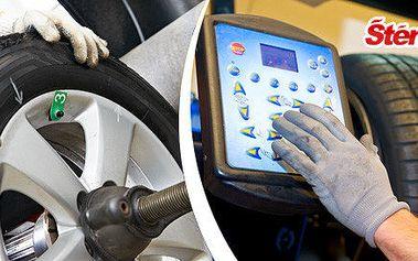 Výměna kol u auta včetně možnosti uskladnění
