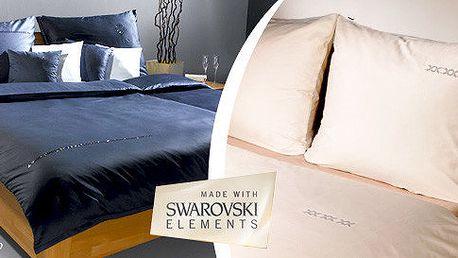 Luxusní povlečení s kamínky Swarovski