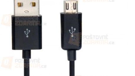 Micro USB nabíjecí a datový kabel - 2 m a poštovné ZDARMA! - 14910128