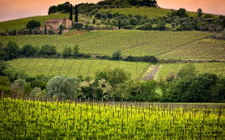 4 dny v Toskánsku s 4*ubytováním a ochutnávkou vín