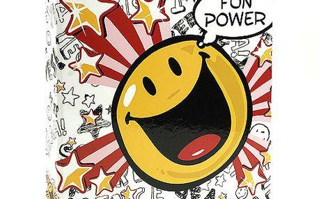 Šanon A4 Smiley World Šanon A4 2 kroužky Fun Power bílá