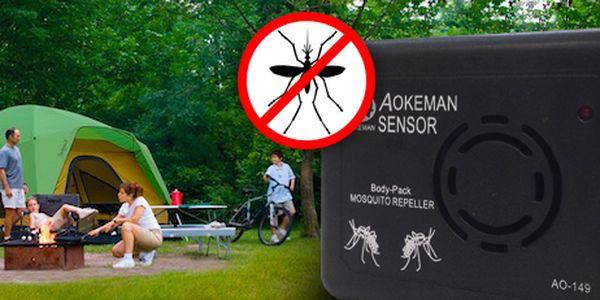Přenosný odpuzovač komárů: nenechte se rušit při letních aktivitách!