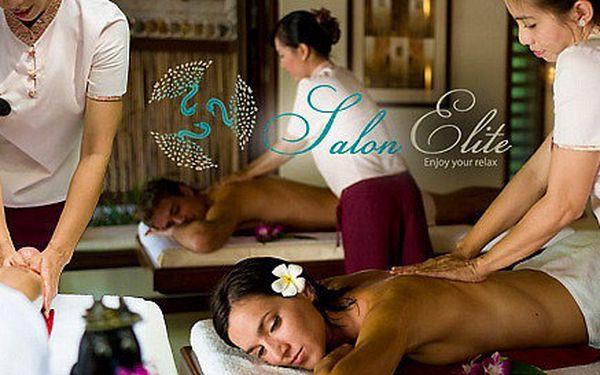 Výběr z 3 druhů Luxusních Thajských masáží - Salon Elite