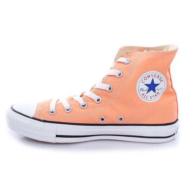 Meruňkové kotníkové tenisky Converse