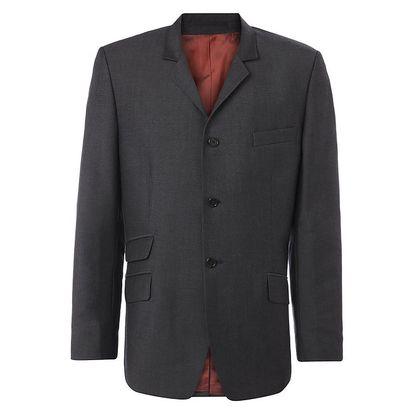 Pánské šedé oblekové sako Merc