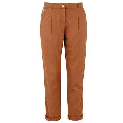 Dámské cihlové chino kalhoty Merc