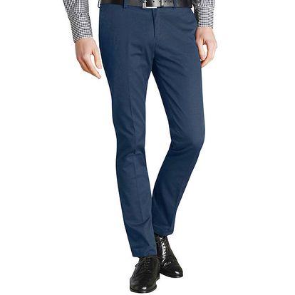 Pánské tmavě modré kalhoty s puky Merc