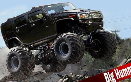 Jízda v Monster Truck Hummeru - sleva 74 %!