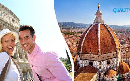 Impozantní památky Říma, Florencie a Benátek