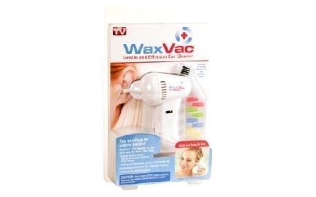Elektronický přístroj na čištění uší WaxVac