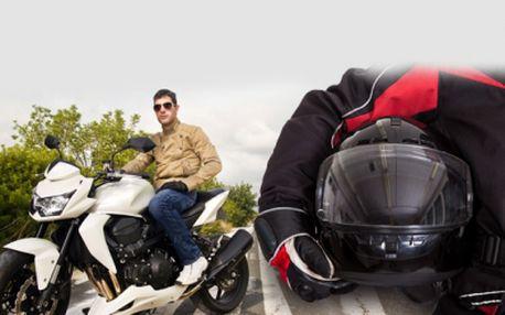 KURZ BEZPEČNÉ JÍZDY NA MOTOCYKLU pro začátečníky i ostřílené jezdce! Až 5 hodin výuky, s teoretickou i praktickou částí, za skvělých 1490 Kč! Vezměte svůj motocykl, zajeďte do Autoškoly ESSA o odjíždějte bezpečněji! Sleva 50%!