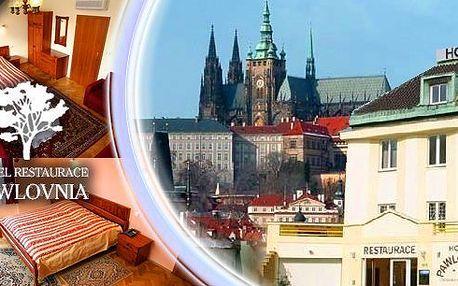 Pobyt pro 2 osoby na 3 dny v hotelu Pawlovnia v Praze, dříve pozdně kubistická vila. Snídaně, dítě do 6-ti let a bazén zdarma.