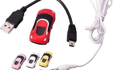 MP3 přehrávač autíčko - poslouchejte hudbu stylově!