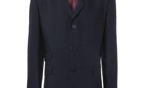 Pánské modré oblekové sako Merc