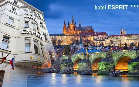 Praha pro 2 se snídaní a vstupy do botanické…