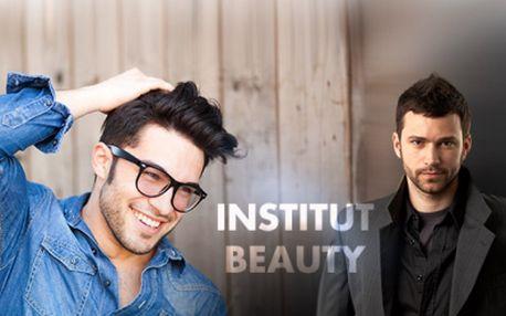 Protože i pánové se chtějí líbit! Pánský kadeřnický balíček přímo v centru Brna v salonu Institut Beauty za senzačních 99 Kč! Mytí, moderní střih, foukaná a styling!