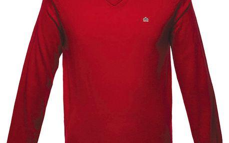 Pánský červený svetřík Merc