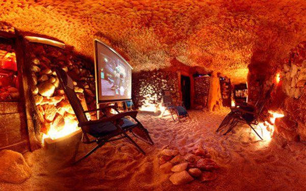 Privátní pobyt v Solné jeskyni v délce 120 minut pro rodinu nebo pár