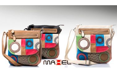 Luxusní DÁMSKÁ KABELKA prestižní značky MAHEL s nastavitelným popruhem přes rameno za pouhých 399 Kč včetně POŠTOVNÉHO! Vybrat si můžete ze 3 druhů!