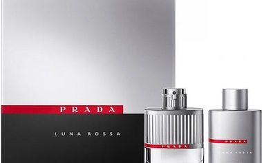Prada Luna Rossa EDT dárková sada M - Edt 100ml + 100ml sprchový gel