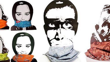 Multifunkční šátek Respiro Bandana