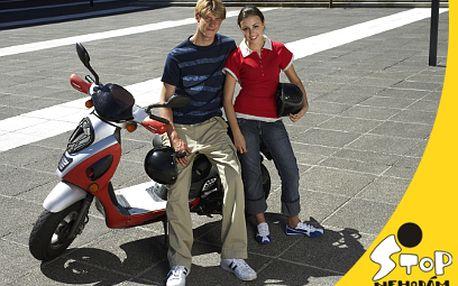 Kurz bezpečné jízdy na motorce za 1390 Kč!