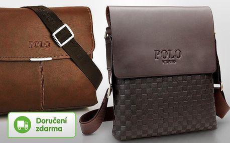 Pánské kožené tašky Polo – 4 modely