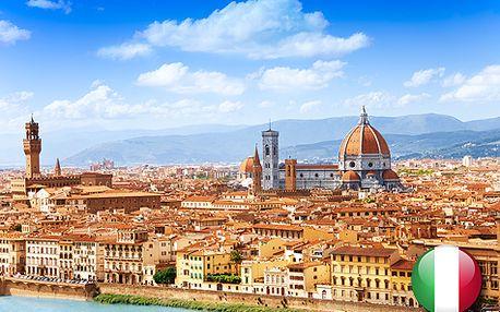 Řím a Florencie na 4 dny - poznejte perly Itálie