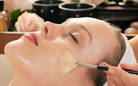 Komplexní kosmetické ošetření - masáž obličeje, sérum, čištění, pleťová maska dle typu pleti