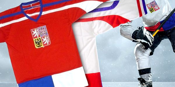 Hokejové dresy ČR pro fanoušky
