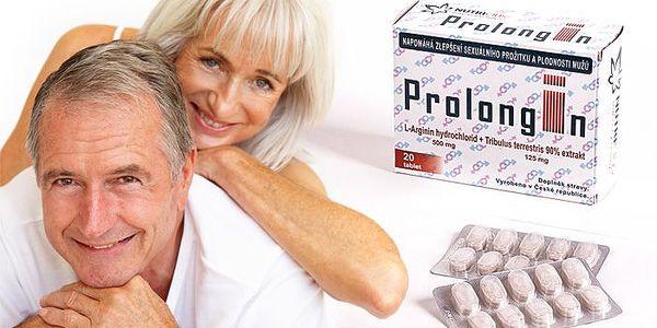Tablety Prolongin na zkvalitnění erekce a plodnosti muže