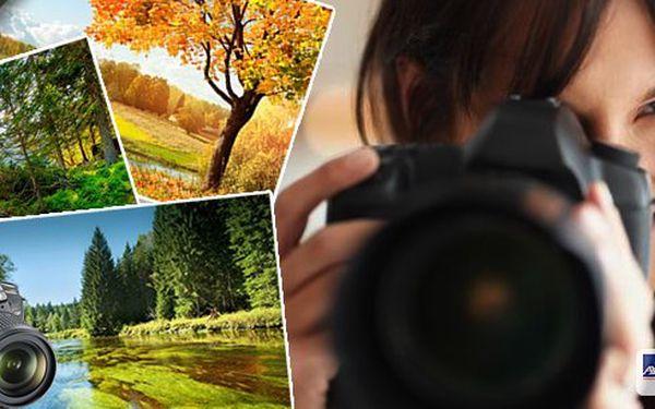 Víkendový fotografický kurz - relaxace a zábava. 2 noci a 3 dny s plnou penzí na Šumavě. Zdokonalte se ve fotografování v krásné přírodě. Vhodné pro začátečníky i pokročilé.