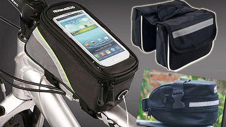 Cyklistické pouzdro nebo taška s doručením zdarma
