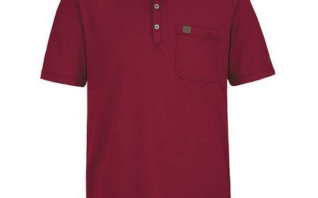 Pánské červené polo tričko Maier