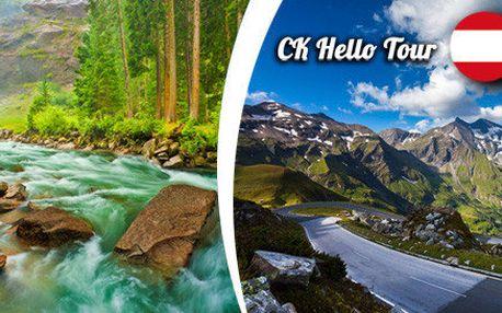 Největší krásy Rakouska - den na vyhlídce na Grossglockner
