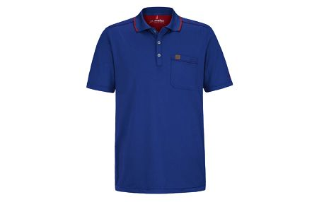 Pánské modré polo tričko Maier