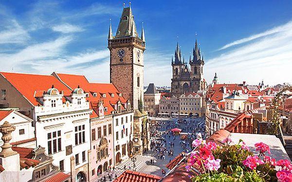 Dovolená pro dva se snídaněmi v hotelu Claris*** v Praze