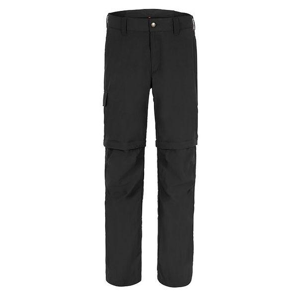 Pánské černé odepínatelné funkční kalhoty Maier