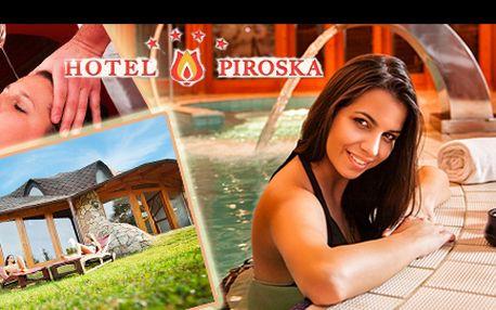 Načerpejte energii v 4* hotelu Piroska Superior a užijte si 4 denní wellness dovolenou v lázních BÜK v Maďarku pro 2 osoby včetně bohaté polopenze, nyní s 51% slevou.
