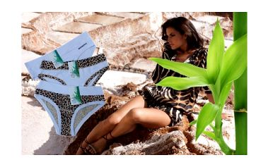 Set tří pohodlných dámský kalhotek v moderním vzhledu za báječnou cenu. Dopřejte si maximální možný komfort, který nabízí spodní prádlo z bambusu.