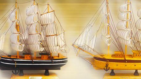 Modely plachetnic: dekorace pro všechny, kteří milují vodu a lodě.