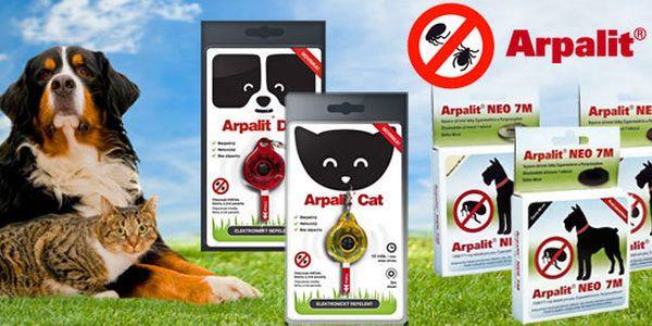 Obojky a elektronické repelenty pro psy a kočky
