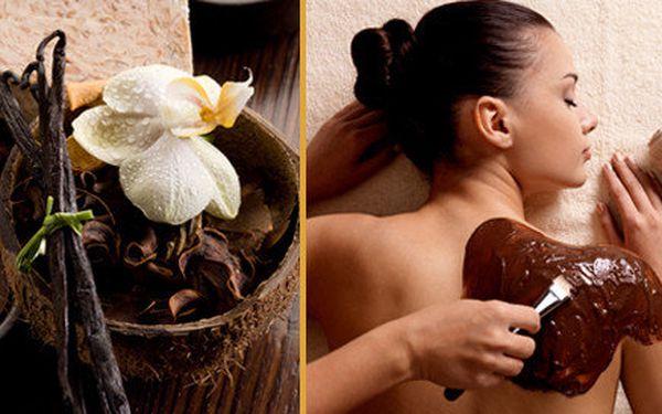 Thajská Čokoládová Olejová masáž celého těla 60 nebo 90 minut